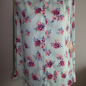 New w/Tags Faded Glory XL 16/18 Blouse Top